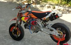 pit bike competicion