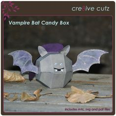 Vampire Bat Candy Box