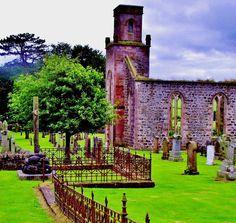 Ruined Church Scotland by James Bullis-King