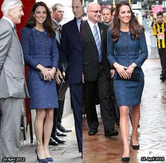 Catherine, Duchess of Cambridge In Rebecca Taylor – Royal New Zealand Police College