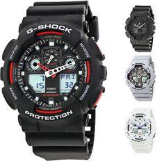 Casio G-Shock Resin Strap Mens Watch