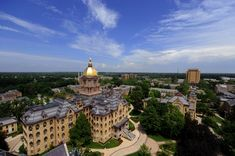 University Notre Dame in South Bend, Indiana