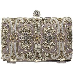 Moyna Box Clutch ($230) ❤ liked on Polyvore