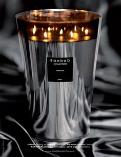 Baobab candles - my favourite and amazing smells...