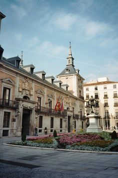 Plaza de la Villa, Madrid  Housed the City Council until 2009.  The oldest building is the Casa de Los Lujanes on the east side with the Mudejar tower.