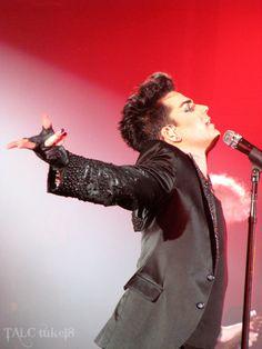 Adam at Hammersmith London night 3 @adamlambert