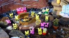 Death of the Twinkie, 2013 Pioneer Press Peeps Diorama Contest Marshmallow Bunny, Peep Show, Easter Peeps, Death, Fun, Colorado Springs, Marshmallows, Crafts, Minnesota