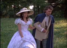 """The Fashions of """"North and South"""" = century + 1985 Victorian Gown, Victorian Costume, Victorian Fashion, Southern Style Dresses, Southern Belle Dress, Sissi, Patrick Swayze Movies, North And South, Saloon Girls"""