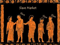 Ancient Slave market