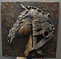 Steel Sculpture, Horse Sculpture, Wall Sculptures, Metal Art Projects, Plaster Art, Scrap Metal Art, Horse Art, Stone Art, Art Studios
