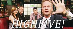 5 of the best high fives in TV and Movie history.  National High Five Day April 17th 2014