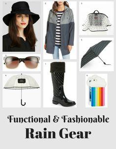 Function Meets Fashion: Rain Gear to Keep You Dry and Stylish | Rain Gear For Moms | Rain Gear For Working Women | Spring Fashion | Spring Rain Gear | MomTrends.com
