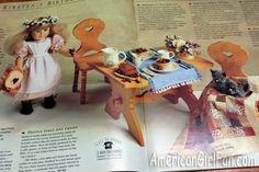 Kirsten's Birthday Collection, 1991 American Girl Pleasant Company catalog