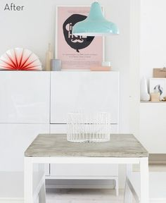 IKEA table makeover! #DIY
