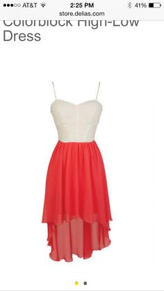 I'm going to get this dress from Delia's for my graduation ( middle school )
