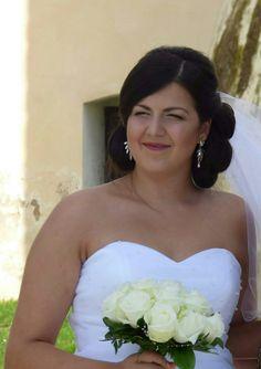 Moje práce,krásna nevěsta Klárka ♡♡♡