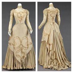 1890 evening dress.