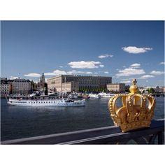 Royal castle in Stockholm Sweden