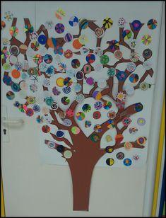 Arts visuels: L'arbre à la manière de Natasha Wescoat - Chez Maliluno