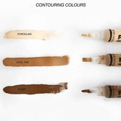 Contouring colours from our LA GIRL collection ❤️❤️ Such a great product and price!