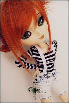 pullip dolls and dal dolls are just soo cute Anime Dolls, Blythe Dolls, Girl Dolls, Barbie Dolls, Pullip Custom, Custom Dolls, Pretty Dolls, Beautiful Dolls, Creepy