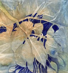 'Twigs and Leaves ' by Val Spayne Watercolor Negative Painting, Watercolor Painting Techniques, Watercolor Leaves, Abstract Watercolor, Watercolor Paintings, Watercolours, Abstract Art, Art Floral, Art And Illustration