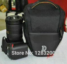 DSLR Digital Camera Bag Case For Nikon D90 D5100 D7000 D3100 D80 D3200 D5200 P500 D70