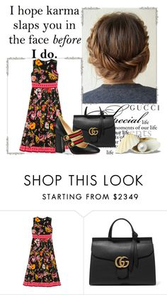 """""""Presenting the Gucci Garden Exclusive Collection: Contest Entry"""" by faeryrain on Polyvore featuring Gucci and gucci"""