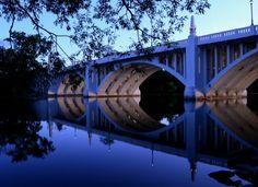 Twyckenham Bridge over St. Joseph River in South Bend.