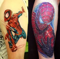 Spider-man tattoo. #tattoo #tattoos #ink