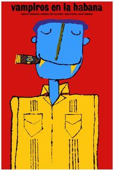Movie Poster for film Buho de ZARAGOZA.Luchuza.Owl modern art.Multicolor decor