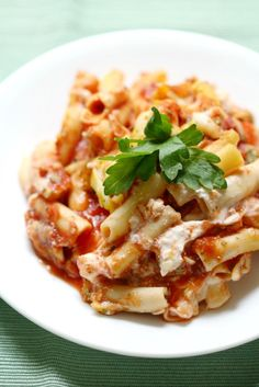 Our family's favorite famous comfort food recipe, remade! Mom's Best Classic Gluten-Free Vegan Baked Ziti without the dairy, but still under 5 ingredients! Vegan Gluten Free, Gluten Free Recipes, Vegan Recipes, Cooking Recipes, Baked Ziti Healthy, Happy Vegan, Vegan Pasta, Plant Based Eating, Comfort Food