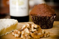 Wine and Cheese Cupcakes – Try Them At Your Next Wine Party - from Cupcake Project