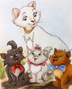 Disney art drawings cartoon characters 59 new Ideas Disney Pixar, Walt Disney Characters, Disney Cats, Disney Cartoons, Drawing Cartoon Characters, Character Drawing, Cartoon Drawings, Art Drawings, Cute Disney