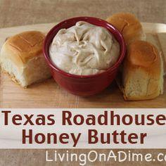 Texas Roadhouse Honey Butter