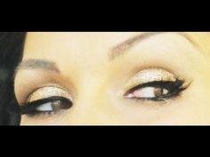 Kandee Johnson Glitter Holiday Makeup...she always has the best makeup tutorials!