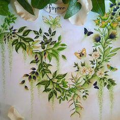 @Regrann from @faynnn - Green therapy and *dance of the spring*  #wonderfulcoloring #coloriage #coloring #colouring #coloriageadulte #adultcoloring #coloringbook #arttherapie #arttherapy #pen #feutre #stabilo #stabilo68 #stabilo88 #fabercastell #fabercastellpitt #watercolor #aquarelle #winsorandnewton #spring #green #mycreativeescape #secretgarden #secretgardencoloringbook #johannabasford #regrann