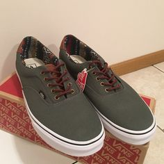 MENS Charcoal Tribal Vans Brand: Vans. Color: Grey/Brown/Tribal. Size: MENS 13. Condition: 10/10. Brand new with tags Vans Shoes Sneakers