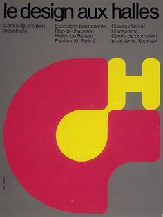 Centre Pompidou Virtuel - Le design aux Halles - Jean Widmer, 1970