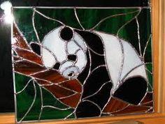 Résultats de recherche d'images pour « bear stained glass patterns »