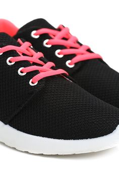 Czarno-Fuksjowe Buty Sportowe Seel - born2be.pl Sneakers, Clothes, Shoes, Fashion, Tennis, Outfits, Moda, Slippers, Clothing