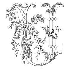 Английский алфавит«Монограммный» Embroidery Alphabet, Alphabet Art, Embroidery Monogram, Letter Art, Valentine Coloring Pages, Alphabet Coloring Pages, Coloring Book Pages, Types Of Lettering, Lettering Design
