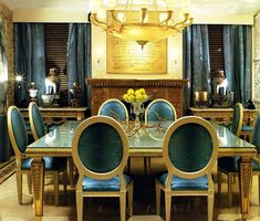 Dazzling dining room