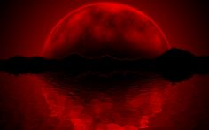 FREE Dark Moon Meditation and Personal Ceremony. Working with The Dark Moon helps us to attune with resting and going inwards during Moontime. Blood Red Moon, Blood Moon Eclipse, Red Moon Rising, Dark Moon, Dark Black Wallpaper, More Wallpaper, Moon Pictures, Red Rooms, Halloween Wallpaper