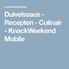 Duivelssaus - Recepten - Culinair - KnackWeekend Mobile