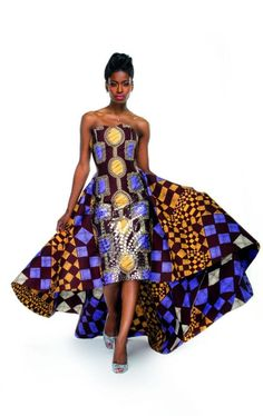 Saw this and wanted to fall out to the floor! You bad girl!   African Fashion week 2013
