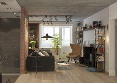 loft brick concrete tracking
