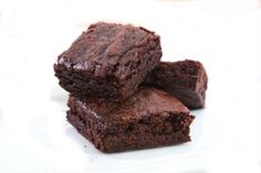 Chocolate Brownies A rich and quick to make #Chocolate #dessert for #Christmas See the #recipe at http://www.awesomecuisine.com/recipes/2841/chocolate-brownies.html