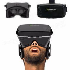 3D VR Shinecon Video Glasses Virtual Reality For iPhone 6S Plus 6Plus Samsung HTC Smartphone Sale - Banggood.com