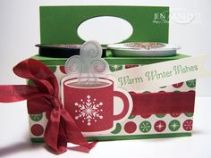 Stamped Silly: On the 2nd Day of Christmas....K cup gift box